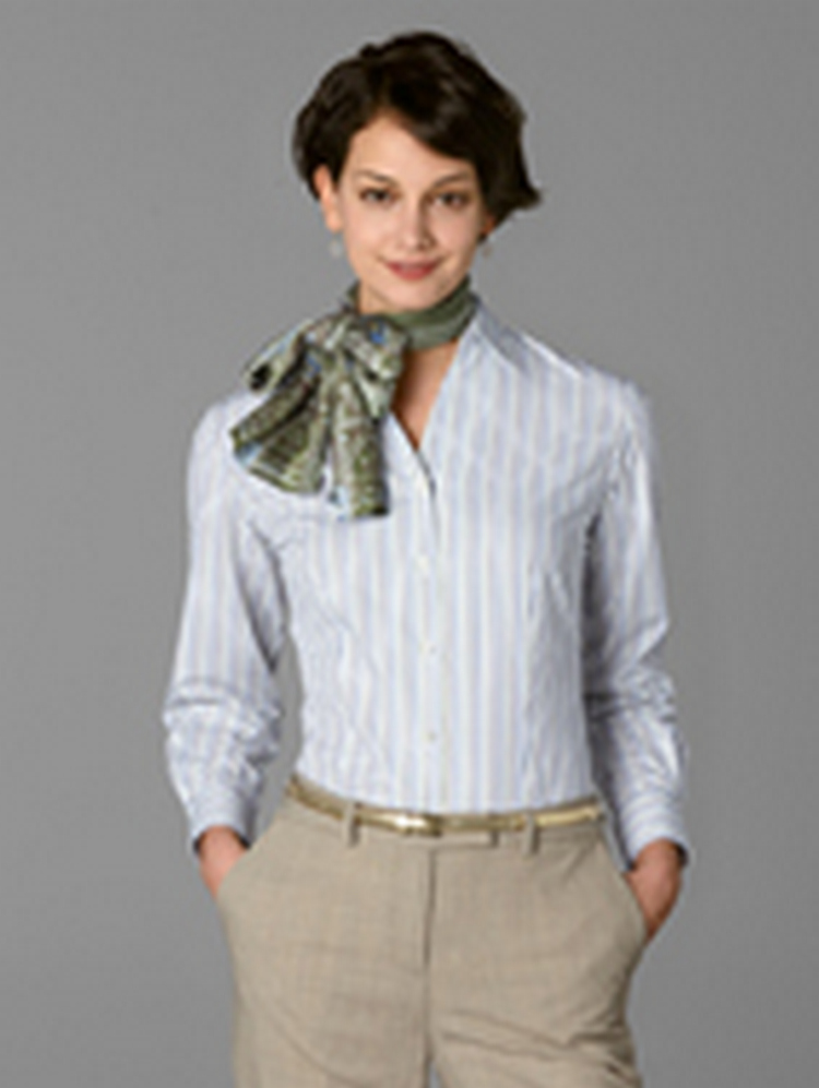 Women's Bleecker Stripe Long Sleeve Blouse