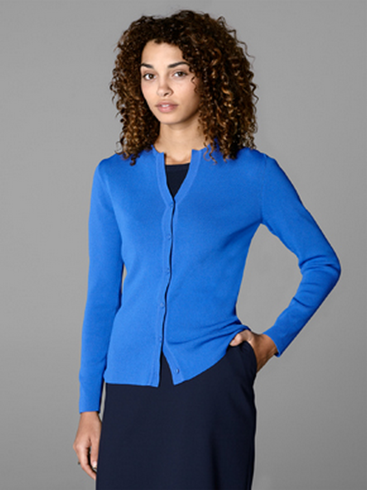 Women's Jewel Neck Cardigan