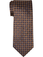 Men's Four-in-Hand Diamonds  Clover Tie