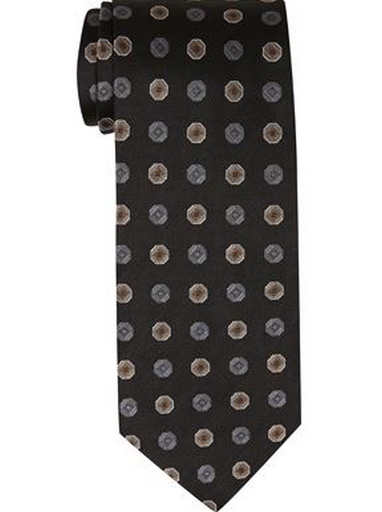Men's Four-in-Hand Medallion Tie